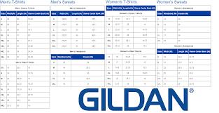 Gildan 5000 Size Chart Gildan T Shirt 5000 Image To Suit You