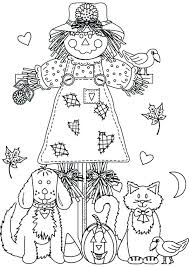 free printable scarecrow coloring pages page for kids collection sheets free printable scarecrow coloring pages