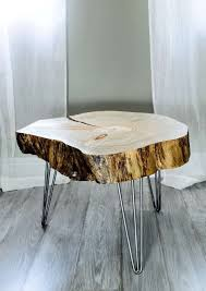 trunk table furniture. Tree End Table Limestone Coffee Outdoor Round Oak  Gold Trunk Trunk Table Furniture