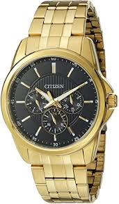 Citizen Men's Quartz Watch with 12/24 hour time and ... - Amazon.com
