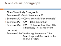 Two Chunk Essay Format College Paper Example