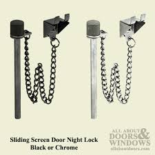 night lock pin for sliding patio door 2 colors
