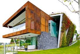 this eco friendly villa in switzerland designed by chinese studio design paradigms is