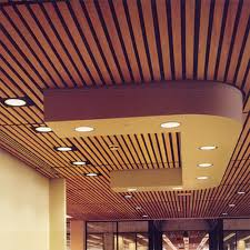 Image Living Room Wood Wooden Ceiling Indiamart Wood Wooden Ceiling In Art Interior Id 4960244788