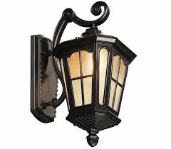 Rustic Lantern Light Us 68 0 20 Off Rustic Iron Waterproof Outdoor Wall Lamp Vintage Kerosene Lantern Light Rusty Matte Black Corridor Hallway Wall Light In Outdoor Wall