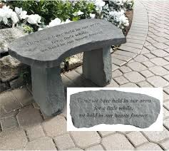 memorial garden benches memorial garden bench those we have held memorial plaques for garden benches