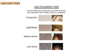Lace Front Color Chart Lace Wigs Lace Color Chart
