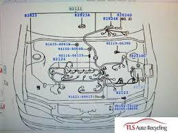 2001 toyota corolla engine wire harness 82121 02181 main engine wiring harness for 2008 rhino 700 2001 corolla toyota engine wire harness