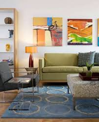 mid century modern eclectic living room. Impressive Funky Sofa Fashion Dc Metro Eclectic Living Room Decorators With Area Rug Artwork Bookshelves Clear Side Table End Green Mid Century Modern A