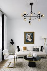 living room ceiling lighting ideas. This Luxe Living Room Proves The Power Of Neutrals Ceiling Lighting Ideas