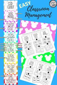 Fourth Grade Behavior Chart Clip Chart With Behavior Management Sheets Disney Style