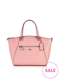 COACH Prairie Satchel Bag - Light Pink   veryexclusive.co.uk