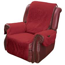 recliner chair cover protector with pockets for remotes and cellphones com