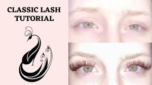 Best Light For Eyelash Extensions Brown Eyelash Extension Tutorial Classic Full Set For Light Or Blonde Eyelashes And Fair Skin