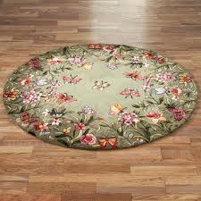 modern octagon rugs 6 at tayse sensation black 5 ft x traditional area