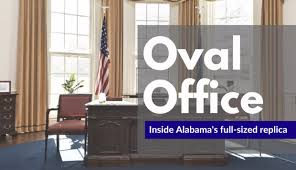 oval office images. Tamika Moore | Tmoore@al.com. Inside Alabama\u0027s Full-sized Oval Office Replica Images