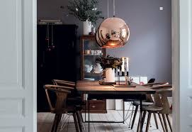 Copper Dining Table Lights Low Medium High 10 Beautiful Modern Copper Chandeliers