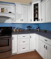 Glazed White Kitchen Cabinets Kitchen Cabinets Smart Painting Kitchen Cabinets White Color