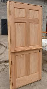 exterior dutch door with shelf. dutch door angle view inside shelf exterior with