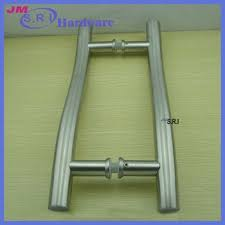 exterior commercial door handles. Fine Commercial 304 Stainless Steel Exterior Pull Door Handles  Double Sided  Handle For Commercial Intended Exterior Commercial Door Handles A