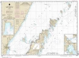 14909 Upper Green Bay Nautical Chart