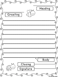 friendly letter template best 25 friendly letter ideas on pinterest parts of the letter printable