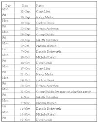 Team Snack Schedule Template 12 Team Schedule Template Team Player Qty 5 6 7 8 9 10