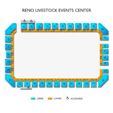Reno Rodeo Seating Chart Reno Livestock Events Center Tickets