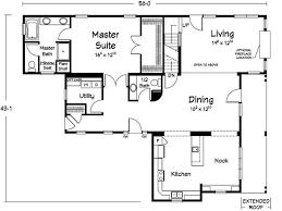 Recently Simple Floor Plans For 3 Bedroom House On Floor With Simple Floor Plan