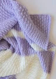 Knitted Baby Blanket Pattern