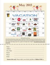 Calendar Raffle Template Calendar Raffle Fundraiser Template Konnyaku Us