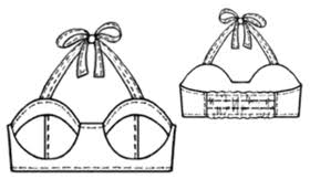 Bra Patterns Free Custom Example 48 Bikini Set Bra Things I Love Pinterest