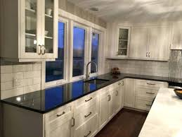 black quartz countertops best kitchen ideas on dark gray maintenance