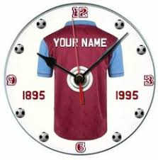Football Stands Display Chelsea football fan gift cd clock personalised with display stand 64