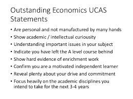Personal Statement Template Ucas Writing A Great Ucas Economics Personal Statement
