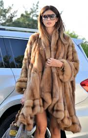 sable furs new natural russian sable fur coat