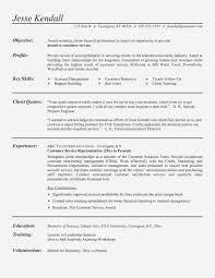 Customer Service Representative Job Description Sample Resume Valid