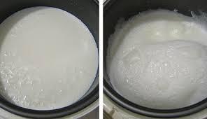 молоко кипит