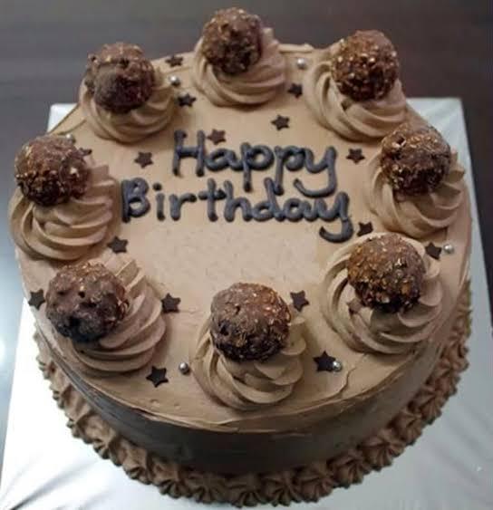 happy birthday chocolate cakes with quotes