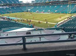 Miami Dolphins Hard Rock Stadium Seating Chart Hard Rock Stadium Section 239 Miami Dolphins