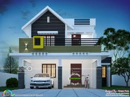 Design By House 1564 Square Feet 4 Bedroom Cute Kerala Home Design In 2020