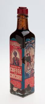 Chicory Coffee Bottle Kornies Food Co Turban Brand Essence Of Coffee
