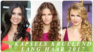 Kapsels Krullend Lang Haar 2017