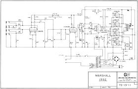 marshall schematics amp schematic 3x ecc83 4x el34 70 13 11 unicord 1970