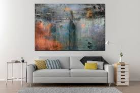 extra large abstract art print on