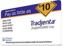 savings card tradjenta linagliptin