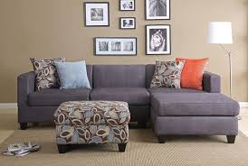 good paint color for grey couch. grey couch with chaise! wonder how j would feel about the patterned . good paint color for c