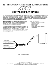 Battery Voltage Meter Wiring Diagram For Low Voltage AC Wiring