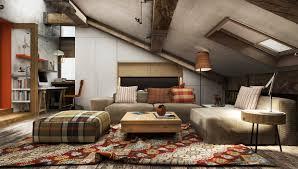 Slanted Roof Bedroom 3 Creative Top Floor Rooms With Wood Accents