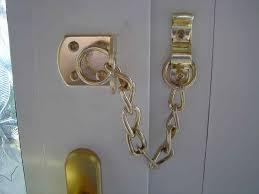 chain door fasteners installation u repairs lock for chain Door